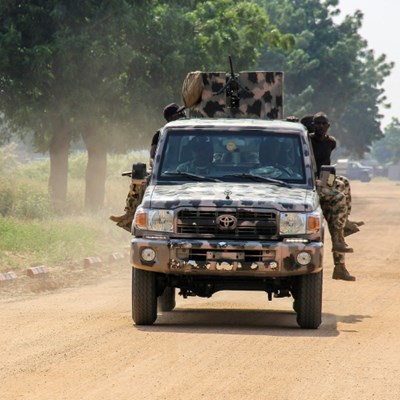 Nigeria jihadists kill five soldiers, kidnap dozens of civilians