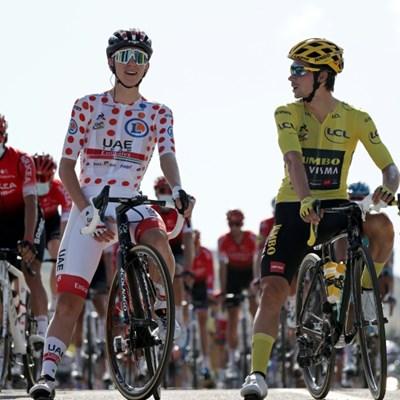 Roglic's Tour charge puts spotlight on Slovenian athletes