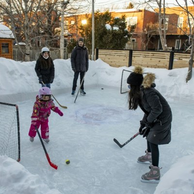 Backyard ice rinks on the rise in pandemic Canada