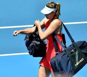 Sharapova career in balance after Melbourne humiliation