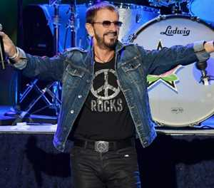 Ringo marks 80th at online gig with Beatles hits, celebrity tributes