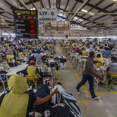 Impoverished Haiti's factories back to work, cautiously