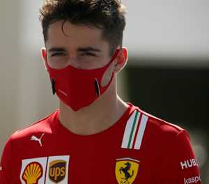 F1's Leclerc tests positive for Covid-19