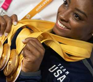 'Best ever' Biles hails record 25 world medals