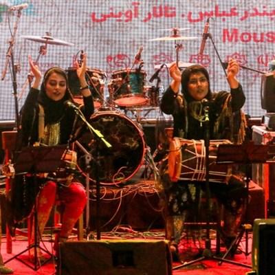 All-women band in Iran struggles to break through
