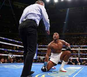 Joshua takes shock defeat on the chin