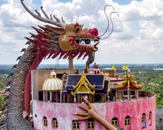 Dungeons and dragons: Thai temples put quirky spin on Buddhism