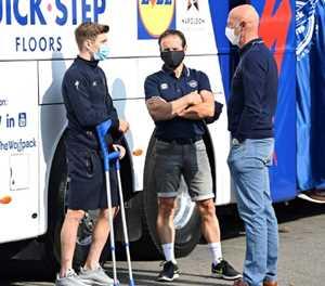 Evenepoel clear of doping suspicion, says UCI