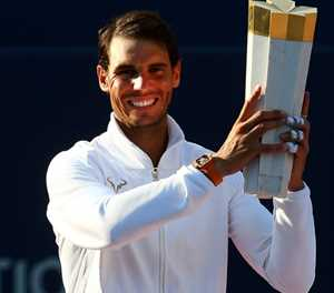 Nadal 'ready to play' despite absences of Djokovic, Federer