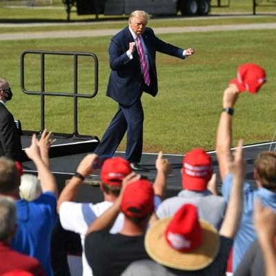 Trump team hit by Covid again, lashes out at 'failure' Biden