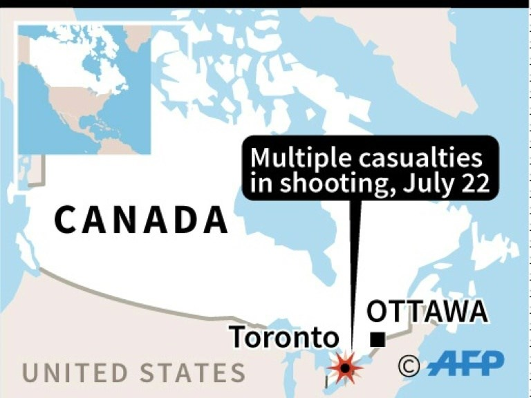 9 Shot in downtown Toronto