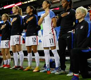 US Soccer repeals anthem kneeling ban: official