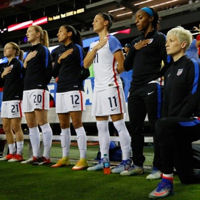 US Soccer repeals anthem kneeling ban: official