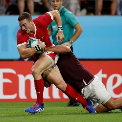 Wales open Rugby World Cup campaign with six-try win over Georgia