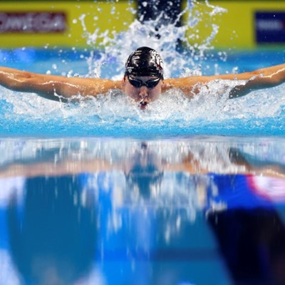 Kalisz grabs first spot on US swimming team for Tokyo