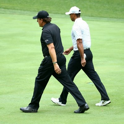 Mickelson 'working on' 1-on-1 golf rematch with Tiger