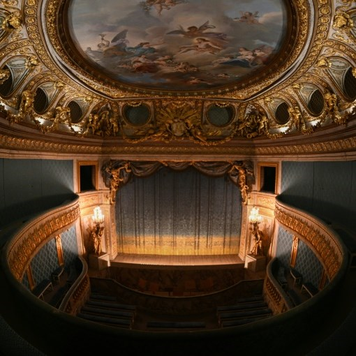 Marie-Antoinette's personal theatre gets a lockdown makeover