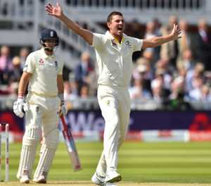 Australia's Hazlewood in the wickets on Ashes return