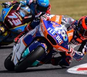 Spain's Fernandez wins Moto2 thriller in San Marino