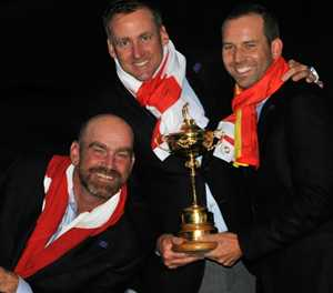 Europe Ryder Cup team