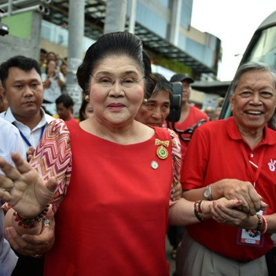 Philippines hands Imelda Marcos lengthy prison term in graft case
