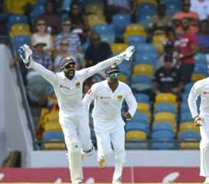 Sri Lanka beat West Indies to draw Test series
