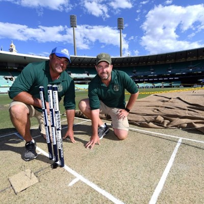 Pitch perfect goal for Australian cricket's grass gurus