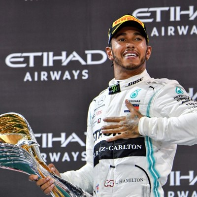 Hamilton says he has not spoken to Mercedes about a new deal