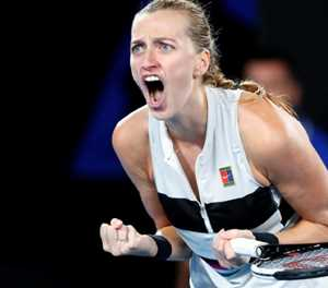 Kvitova hails end to Grand Slam issues at Australian Open