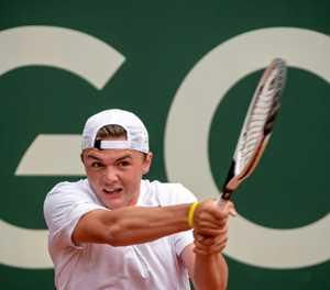 World number 419 Stricker follows in Federer's footsteps