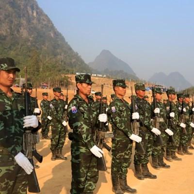 Myanmar insurgent group says has captured military base near Thai border