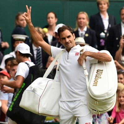 Federer, Nadal, Djokovic star on 'Manic Monday'