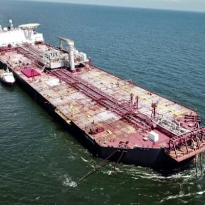 Tilting Venezuela oil tanker threatens 'environmental catastrophe'