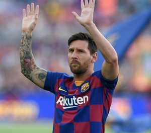 Messi back in training, in contention to face Betis