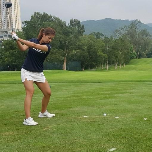 Quarantine can't quash Hong Kong golfer Tiffany's driving ambition