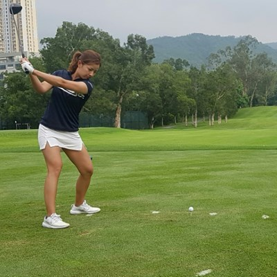 Quarantine can't quash Hong Kong golfer Tiffany's driving ambition