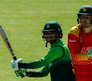 Zaman sets records as Pakistan thrash Zimbabwe for ODI sweep
