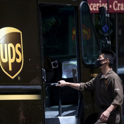 UPS stepping up dry ice production, freezers for vaccines