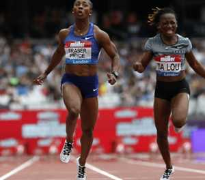Sprint queen Fraser-Pryce cruises in London as Obiri shines in 5000 metres