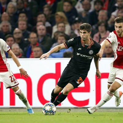Pulisic delights Lampard with match-winning display at Ajax