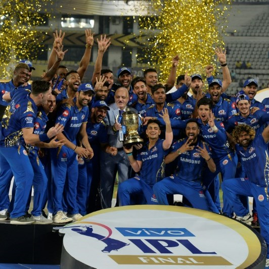 IPL bubble 'tough', but skipper says champions Mumbai in good spirits