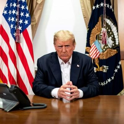 Asian markets rally on Trump health, stimulus hope