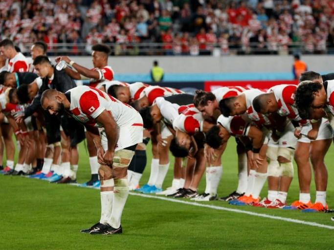 Brutal Boks burst brave Japan's bubble at Rugby World Cup