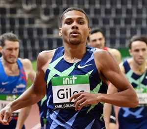 Britain's Giles runs second fastest indoors 800m of all time