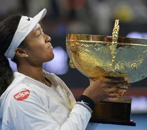 'Humbled' Osaka reveals pressure of being number one