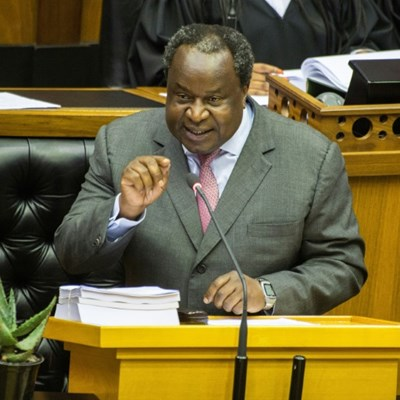 South Africa lays out budget
