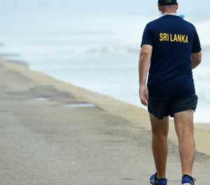 Sri Lanka's cricket team resume outdoor training after virus halt