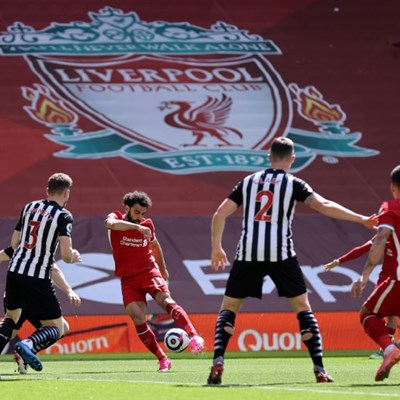 African players in Europe: Salah goal creates Liverpool record