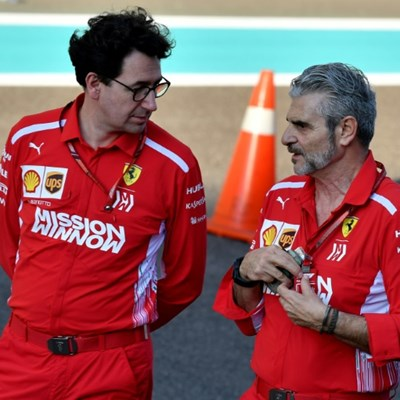 Binotto replaces Arrivabene as Ferrari team principal