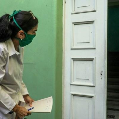In Cuba, medical students provide door-to-door virus care